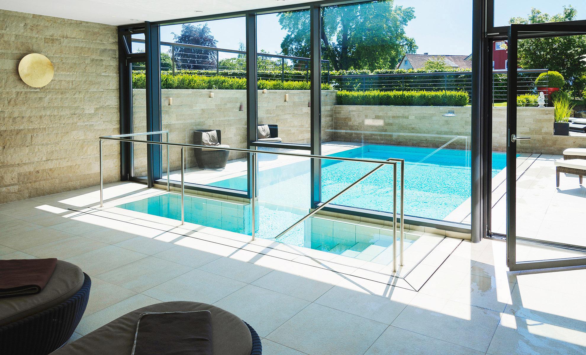 Pool Innenansicht